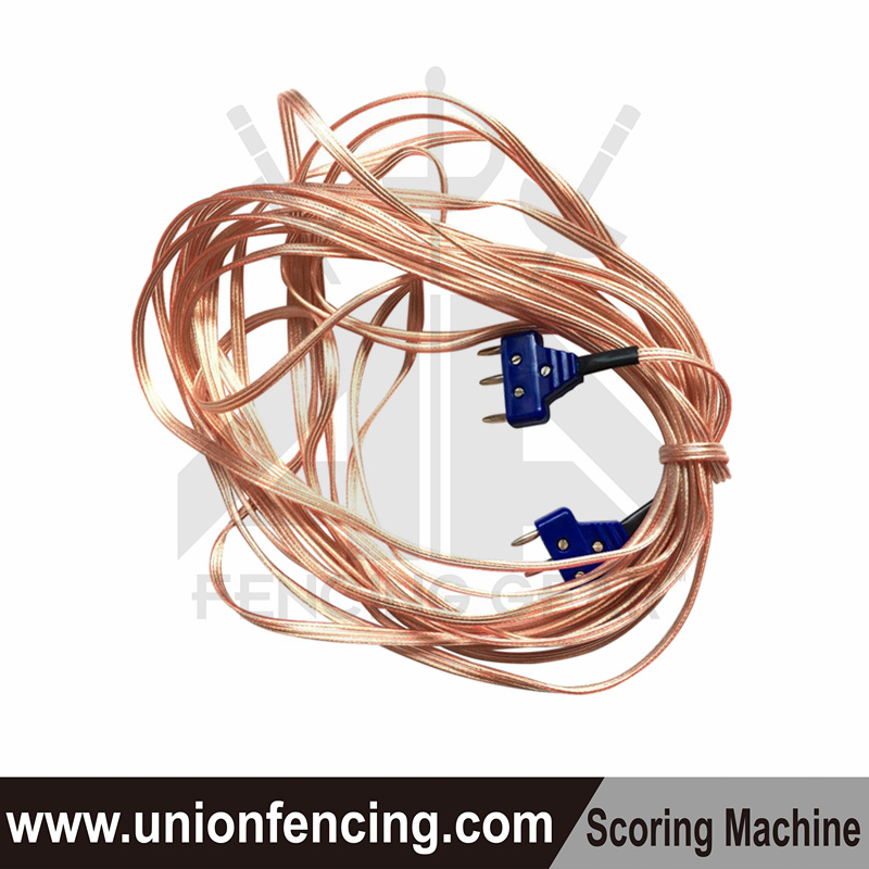Union Fencing Floor cable with 3-pin plug