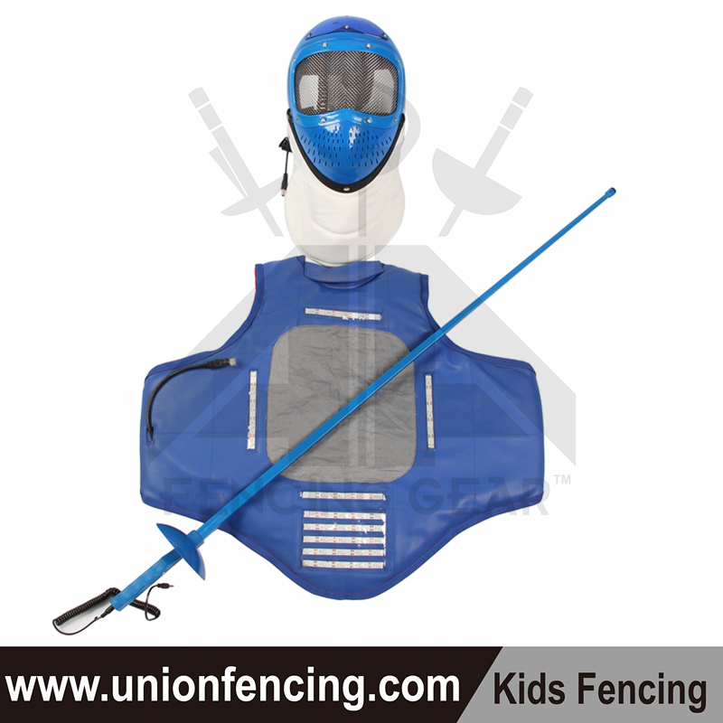 Union Fencing Mask&Blade&Vest for Kids(electric)